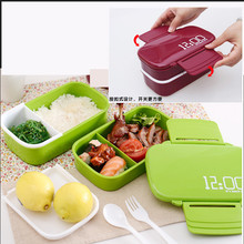 3 Layers Microwave font b Lunch b font Boxs Food Storage Container font b Lunch b