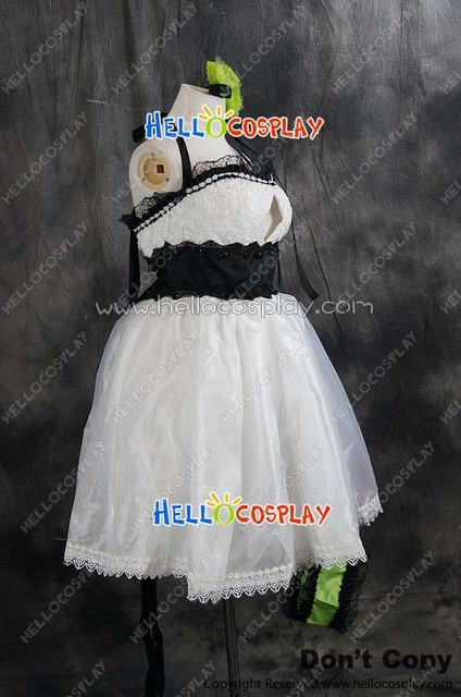 Vocaloid 2  Megpoid Gumi White Outfit Cosplay Costume H008
