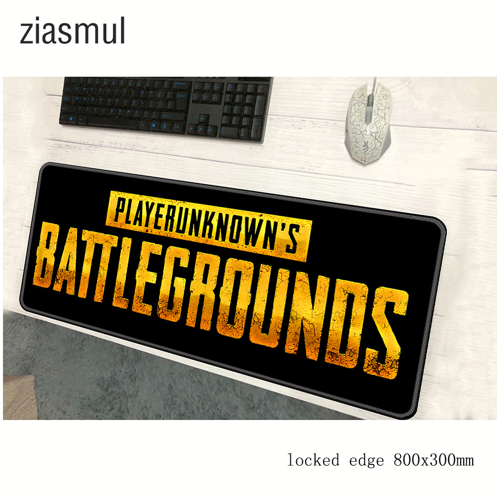 Playerunknown's Battlegrounds Mousepad 800x300mm Pad To Mouse PUBG Notbook Computer Mouse Pad Gaming Padmousekeyboard Mouse Mats