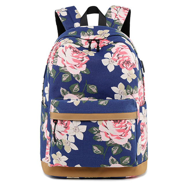 Fashion print Backpack Youth student bag girl mochila brand new 2018 women  shoulder bag school bag f1cfa10623b21