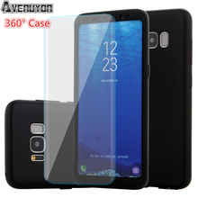 360 Degree Full Protective Case For Samsung Galaxy S8 S8 Plus Shockproof Hard PC + Soft TPU Silicone Cover  + Screen Protector