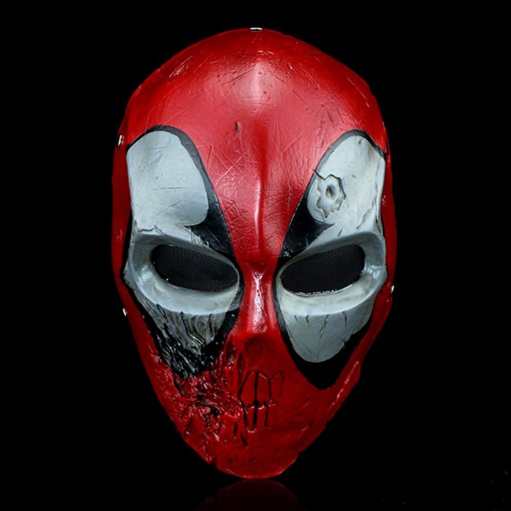 Anime comics Deadpool 2 résine haute qualité masques halloween Cosplay Costume accessoires cadeau