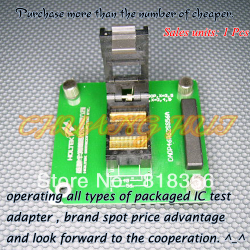 CADP46R62S56A Programmer Adapter /IC SOCKET(Flip test seat)