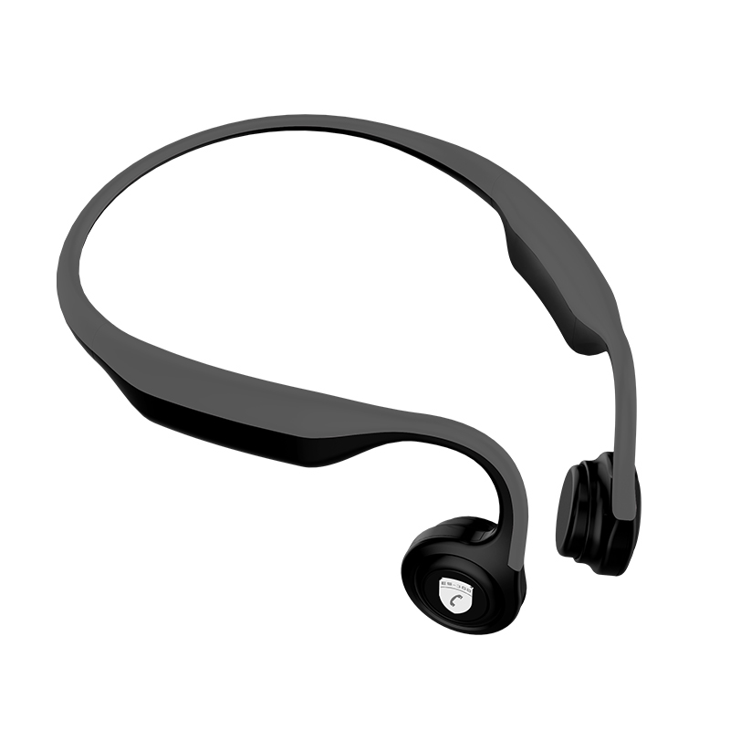 Bone Conduction Headset Bluetooth Wireless HD Stereo Waterproof Open Ear Sports Titanium Headphones for iPhone Android with mic open ear bone conduction headphones bluetooth v4 2 wireless sports headset adjustable stereo ear hook headband earphone with mic