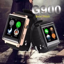 Smart Watch G900 Uhr Sync Notifier Unterstützung Sim-karte Bluetooth Kamera Für Apple iphone Android Telefon Smartwatch Uhr