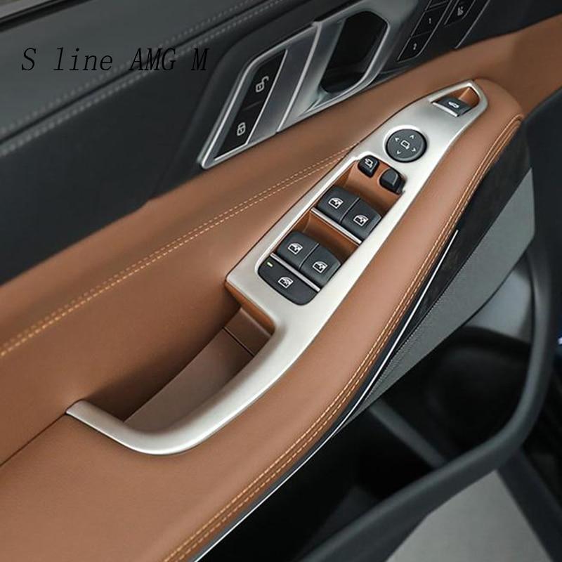 4 x Carbon Fiber Style ABS Kunststoff f/ür X3 G01 2018 Jahr ABS T/ürschloss Abdeckung Abdeckung Zubeh/ör