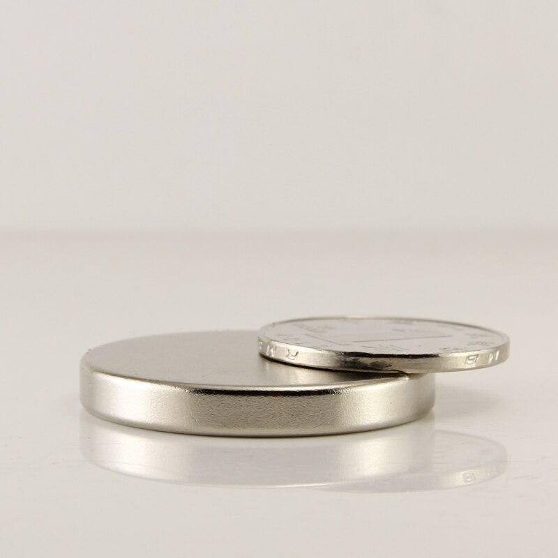 Free shipping 2pcs disc 30x5mm N50 neodymium magnet rare earth strong magnets NdFeB nickle earth 2 vol 5