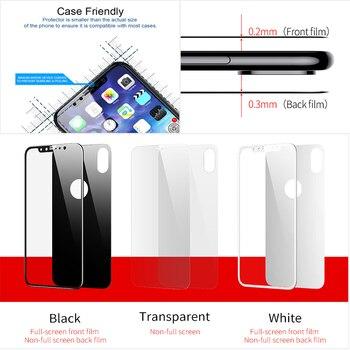 Закаленное стекло Baseus для iPhone X 10 2