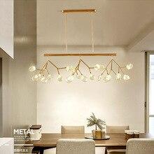 Современные светодиодные люстры лампы для Гостиная Спальня Lamparas colgantes Nordic Lustre светильник промышленные светильники