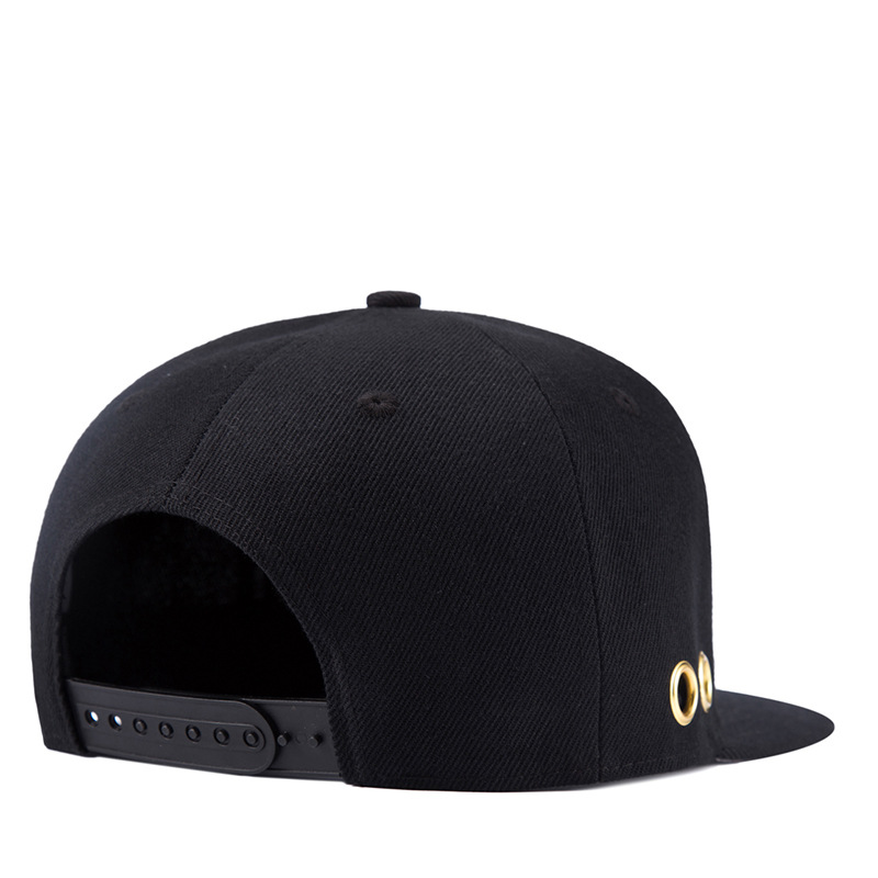 2018 Four seasonsstyle solid color flat top hat Casquette tabula rasa cap eyelet baseball cap Hip Hop Cap Hats for men and wome