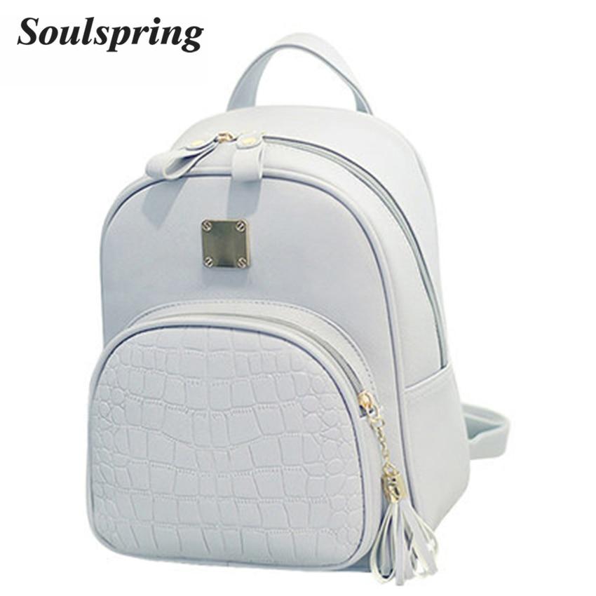 pequena rosa mochilas escolares mochila Técnica : Gravando