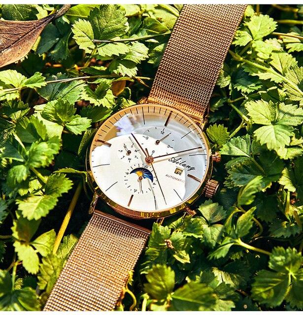 Ailang дизайнерские брендовые автоматические швейцарские часы