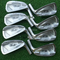 Right Hand Golf Clubs Dance With Dragon Forged Iron Set Silve / black Golf Forged Irons 3 9Pw Golf Head No Shaft
