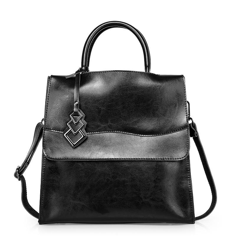 ФОТО 2017 New Designer Female Genuine Leather Handbag For Women Famous Brand Satchel Bag Briefcase Bag Ladies Shoulder Crossbody Bag