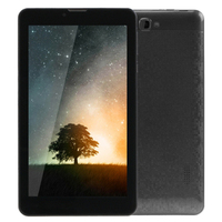 7.0 inch Tablet PC 8GB 3G Phone Call Android 8.0 Quad Core up to 1.3GHz Dual SIM WiFi OTG Bluetooth Tablet PC (Black)