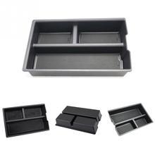 Автомобиль Подлокотник Коробка для хранения центральной консоли лоток Органайзер для Dodge RAM1500 09-18