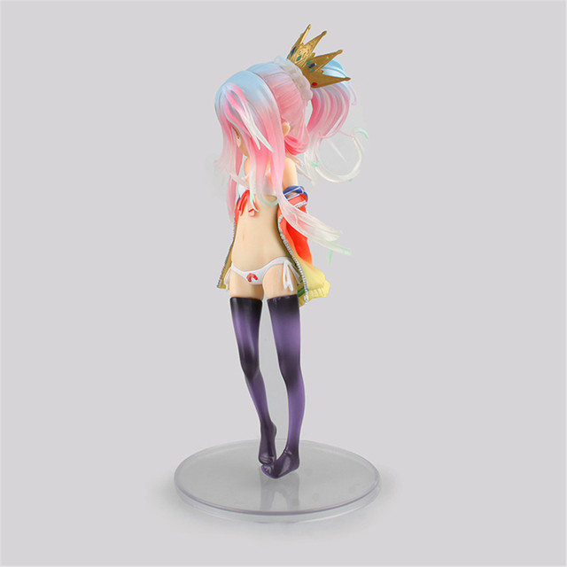 No Game No Life Figure Shiro Action Figure Bikini Ver. PVC Anime Kids Gift Hot Toys For Children Sexy Figma Doll Model PM