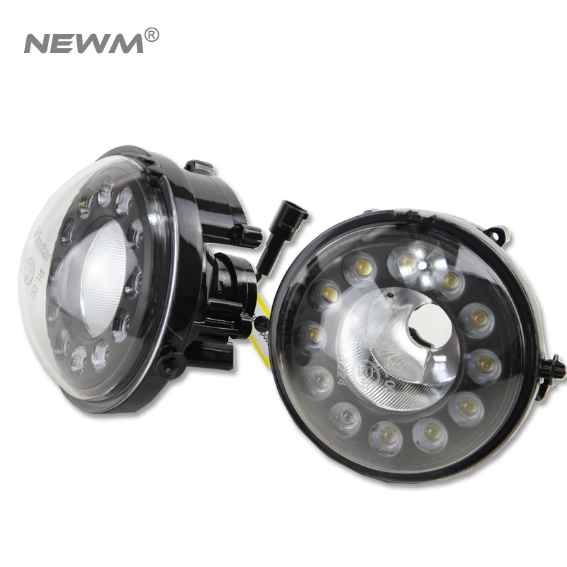 цены 2pcs/lot 10W Super White LED Daytime Running Lights Drl Light For Mini COOPER R55 R56 R57 R58 R59 R60 LCI Car DRL