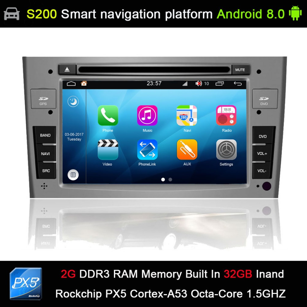 <font><b>Android</b></font> <font><b>8.0</b></font> system Octa 8-Core CPU 2G Ram 32GB Rom Car DVD Player Radio for <font><b>Peugeot</b></font> 408 2010-2011/<font><b>Peugeot</b></font> <font><b>308</b></font> I (T7) 2008-2011 image