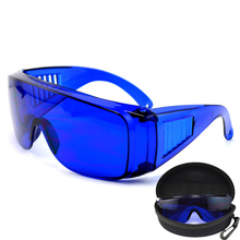Очки для гольфа, спортивные солнцезащитные очки, подходящие для бега для вождения гольфа, синие линзы