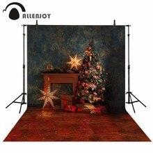 Allenjoy фото фон звезда Рождественская елка звезда винтажный интерьер год фотографии фоны Фотофон фотосессия