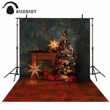 Allenjoy photo background star Christmas tree star vintage interior new year photography backdrops photophone photocall allenjoy photography backdrops balloons animal candles greet photo background christmas vinyl backdrops for photography new year