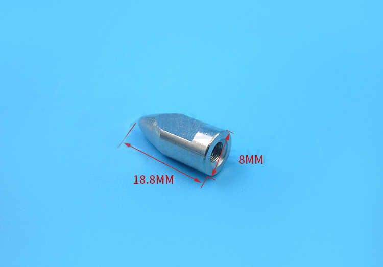 4 шт. M4 пулевидный колпачок адаптер пропеллера держатель гибкие валы комплект реквизит соединитель-фиксатор для RC лодки запасных Запчасти