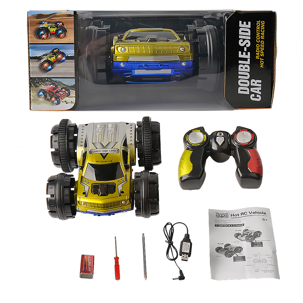 RC Car Double Sided Remote Control Car 360 Degree 10