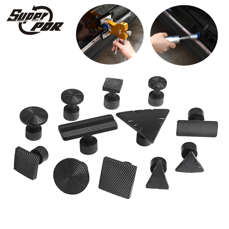 Super PDR Tools 12 pcs Glue Tabs use for glue puller Slide hammer Dent Removal -Paintless Dent Repair Tools Dent Puller Tabs paintless dent puller repair pdr tools kit hail removal t bar slide hammer 18pcs glue puller tabs nin for dent removal paintless
