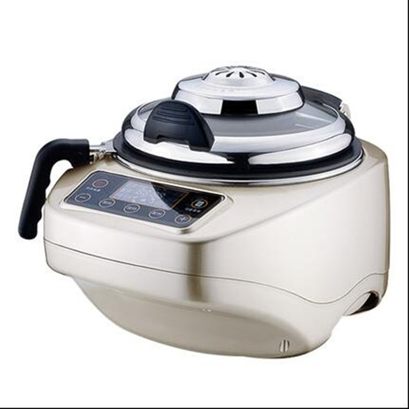 220V Multifunctional Electric Cooking Wok Pot Automatic Intelligent Household 4.2L Electric Cooking Frying Machine EU/AU/UK/US automatic cooking robot automatic cooking pot intelligent electric frying pan