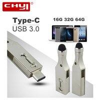 OTG USB Flash Drive 64GB TypeC 3 1 Pendrive 32GB High Speed Waterproof Flash Disk USB3