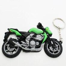 Мотоциклы резиновый брелок из пвх брелок, Брелоки для ключей цепи для KAWASAKI Z750 Z1000