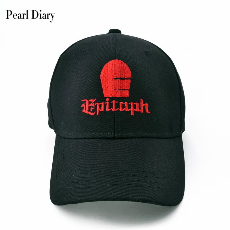 fca7efc6bcb69 Best buy Punk EPITAPH RECORDS Funny Embroidery baseball caps Pure cotton  caps Adjustable snapback hats for women men online cheap