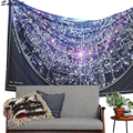 Trendy Round Hippie Tapestry Beach Pashmina Throw Roundie Mandala Towel Yoga Shawl Bohemian Style Printed Wrap Home Decor Aug18