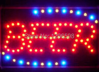 CHENXI Limited Sale 10X19 inch semi outdoor Ultra Bright running beer brewing manufacture led sign letters