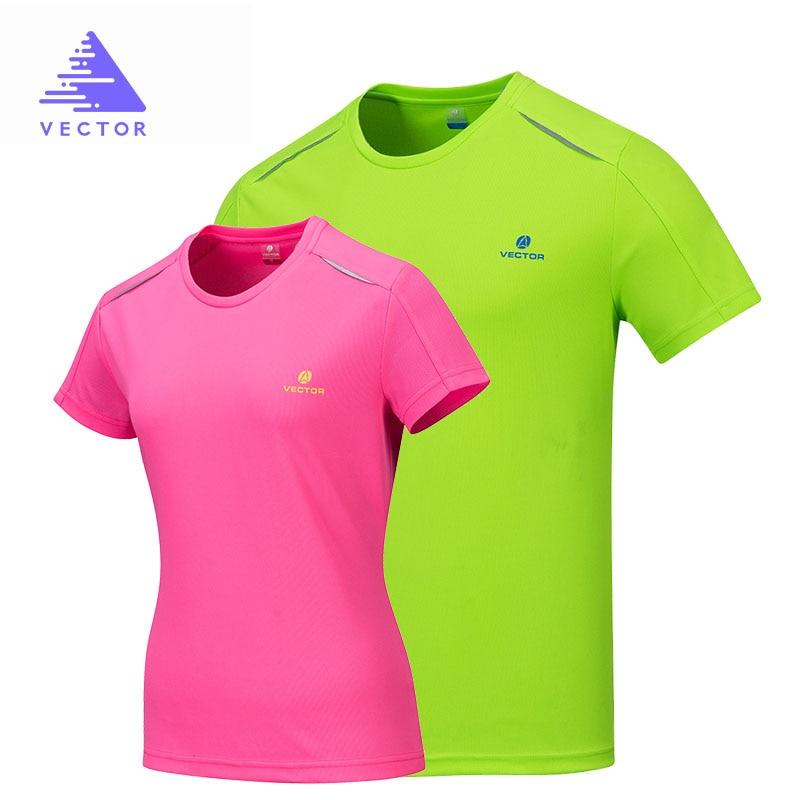 VECTOR camisa de secado rápido hombres mujeres manga corta Coolmax camiseta  al aire libre camiseta transpirable Running escalada senderismo pesca en ... 426b7e6f08c04