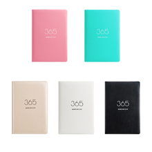 PU 2020 Schedule Book Efficiency Planner Diary Note Book Student Daily Planner Business Agenda Notebook School Office Stationery student school office supplies stationery retro classic notebook with lock business agenda password diary planner writinggift