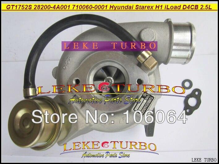 GT1752S 710060-0001 710060-5001S 28200-4A001 710060 Turbo turbodmychadlo pro Hyundai Starex 2000- H1 H-1 iLoad iMax D4CB 2,5L CRDI