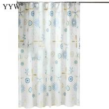Peva Bathroom Curtains Bath Screens Moldproof Waterproof Shower Curtain Products Nordic Style Home Decor