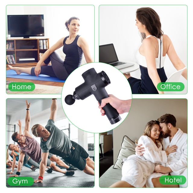 Percussive Muscle Massager Gun 3