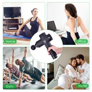 Image 3 - Pistola de masaje muscular de tejido, gestión del dolor muscular después del ejercicio de entrenamiento, relajación corporal, adelgazamiento, moldea el dolor