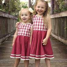 Dubeyi Spring Summer Clothes Kids Little Girls Sleeveless