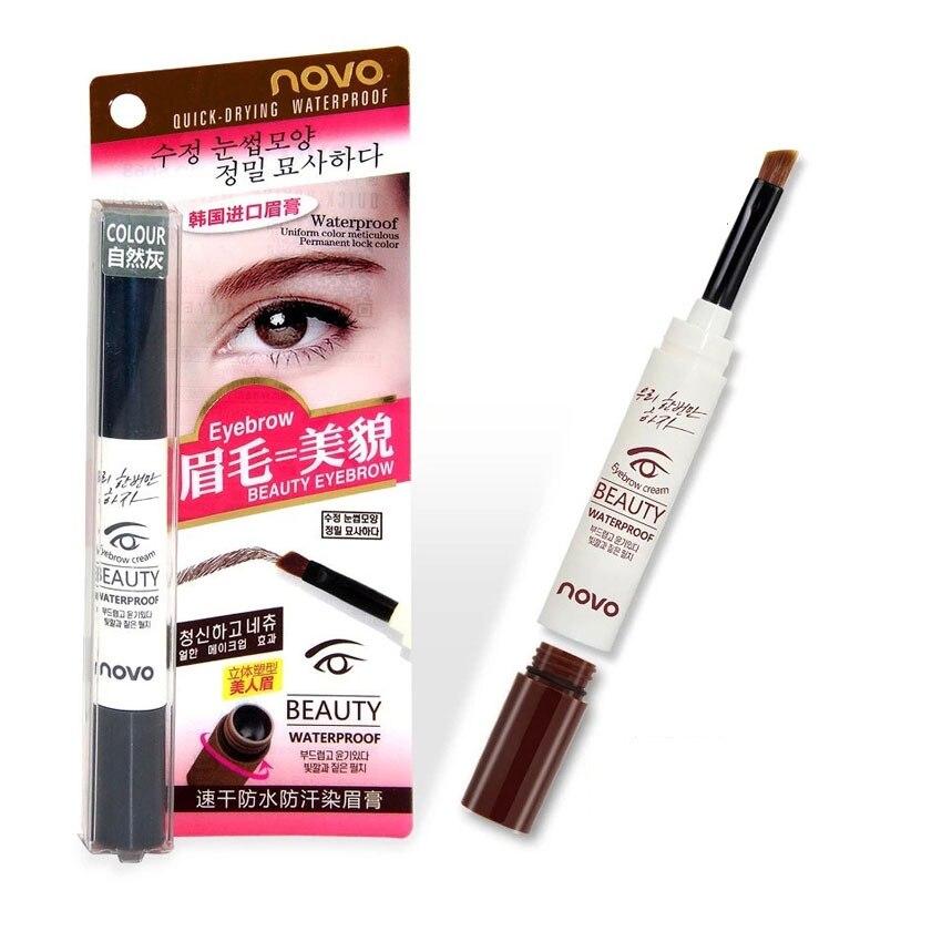 Aliexpress.com : Buy NOVO waterproof eyebrow gel eye brow dye ...