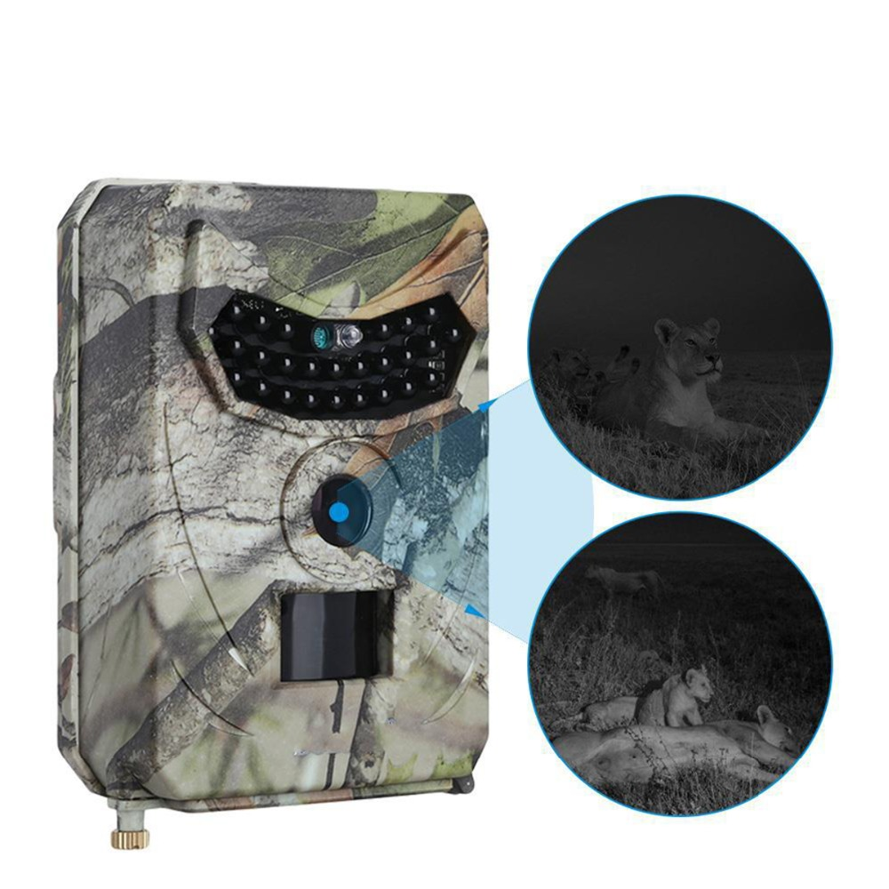 SOONHUA PR-100 Camouflage Hunting Trail Camera 1080P HD Video 12MP Wild