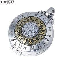 Новинка! Подвеска из серебра 925 пробы в виде тибетского Полумесяца