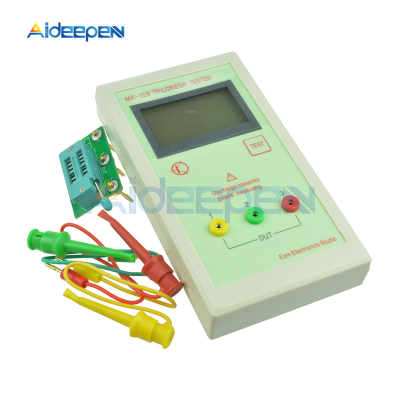 MK-328 Transistor Tester ESR Meter Inductance Capacitance Resistance LCR TEST MOS/PNP/NPN Automatic Detection