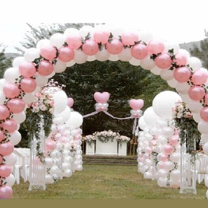 m x m decoracin arco de globos para eventos del banquete de boda lugar