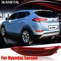 Para Hyundai Tucson 2016 2017 luzes de Nevoeiro Bumper Refletor Cauda Brake Parar Luz Traseira Do Carro Exterior Decoração Auto Acessórios