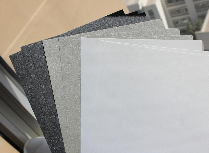 250gsm 145*195mm Glossy Shimmer Cardstock Craft Papers Curious Pearlised Thick Paper 5 To 30 Sheets Dark/Silver Grey White df wallace girl with curious hair paper