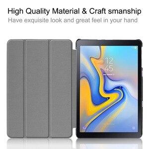 Image 2 - Funda de cuero con tapa para Samsung Galaxy Tab Advanced 2, protector con estampado de SM T583 de 10,1 pulgadas, funda con soporte para Samsung SM T583